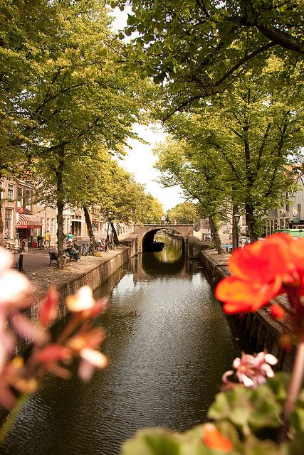 Edam Canal - Edam, Netherlands