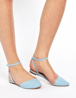 Image 3 of ASOS LADYBUG Pointed Ballet Flats