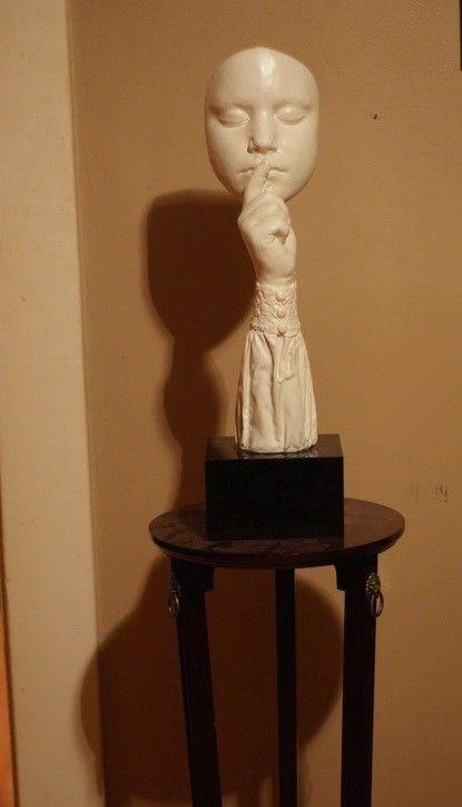 """#art John Cutrone Art Austin Sculpture """"Silence"""" ...........Now Beautiful Rare Find please retweet"""