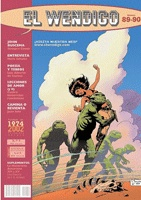 El Wendigo 89-90 - #comic #magazine #Spain #Asturias #Gijón - Salón del cómic #convention