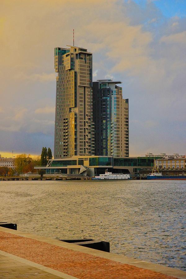 sea towers in Gdynia by Alicja Wisniewska, via 500px