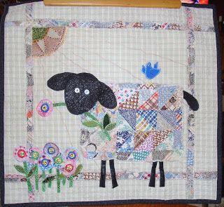 c403fb8dd2708d Lola Quilts  Lamb Quilt