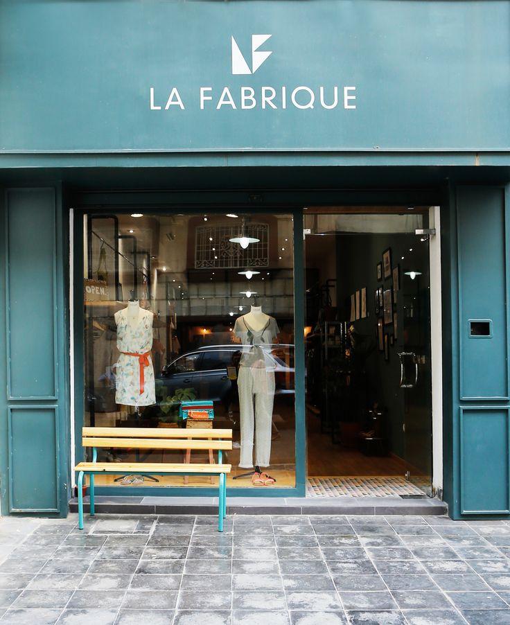 Façade du concept-store La Fabrique