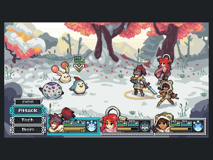 'I Am Setsuna' Pixels by Phil Giarrusso