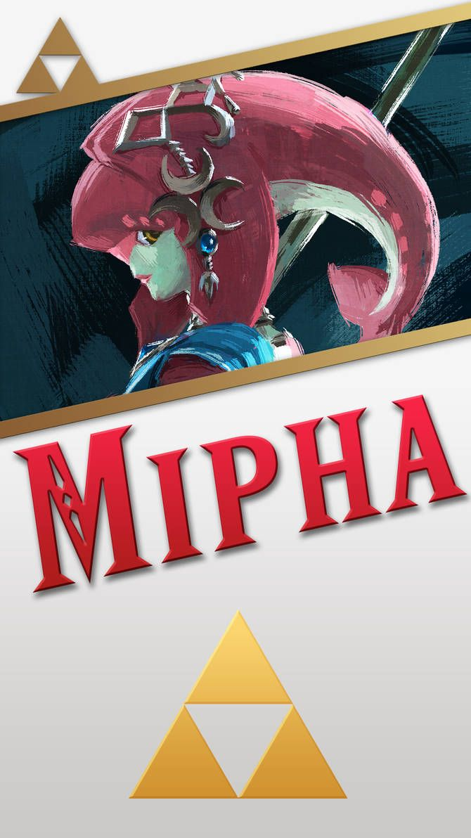 Champion Mipha Phone Wallpaper By Mrthatkidalex24 Super Mario Art Mario Art Wallpaper
