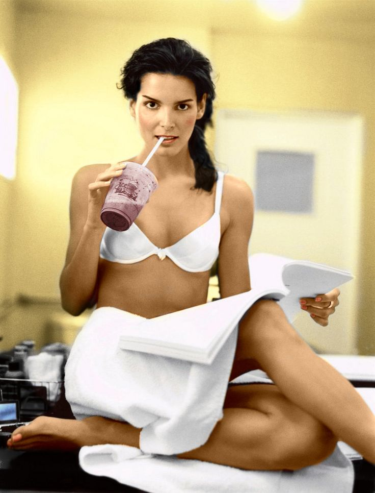 https://flic.kr/p/89hrWi | Angie Harmon colorized | Angie Harmon colorized