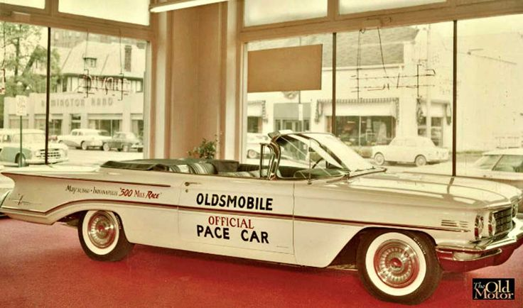 Charlie Stewart's 1960 Oldsmobile Indianapolis 500 Pace Car