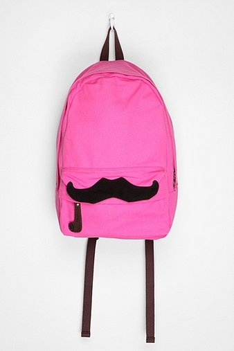 Carrot Mustache Backpack, Urban Outfitters