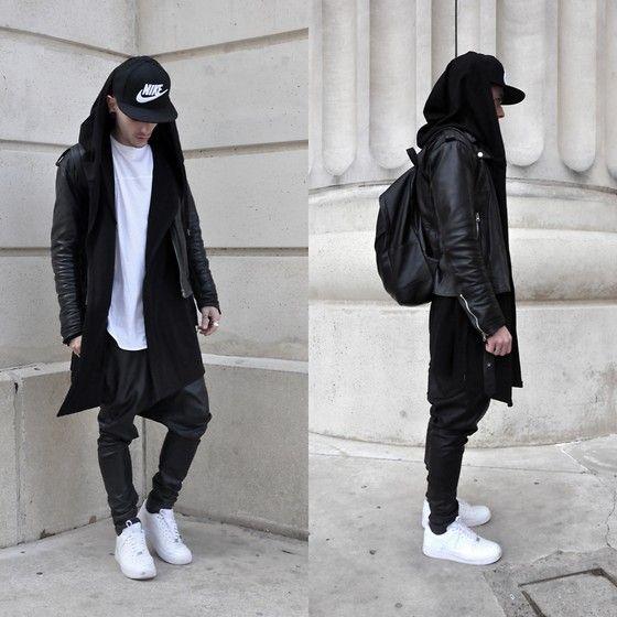 Nike Casquette, Bershka T Shirt, Zara Veste #1, Friperie Veste #2, Black Kaviar…