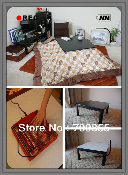 Find More Coffee Tables Information About (4pcs/set) Free Shipping Kotatsu  System Home Furniture Japanese Table With Blanket ,High Quality Home  Furniture ...