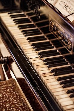 Music in my mind....m ......... Daughter of mine, treasure and love my mother's piano........m
