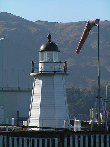 Lyttelton Harbour lighthouse [1878 - Lyttelton, Canterbury, South Island, New Zealand]
