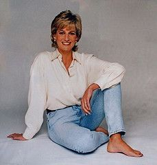 1995: A portrait of Princess Diana by Patrick Demarchelier..