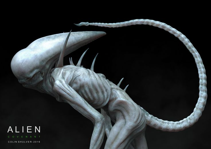 ArtStation - Alien Covenant - Neomorph, COLIN SHULVER