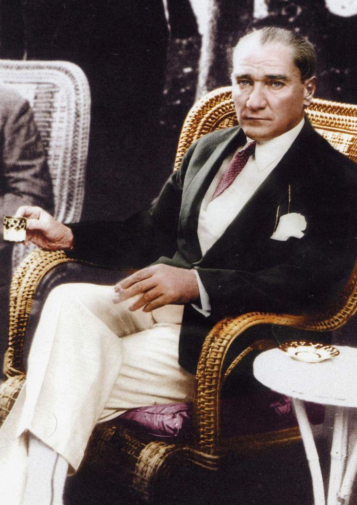 Mustafa Kemal Atatürk was an Ottoman and Turkish army officer, revolutionary statesman, writer, and the first President of Turkey.