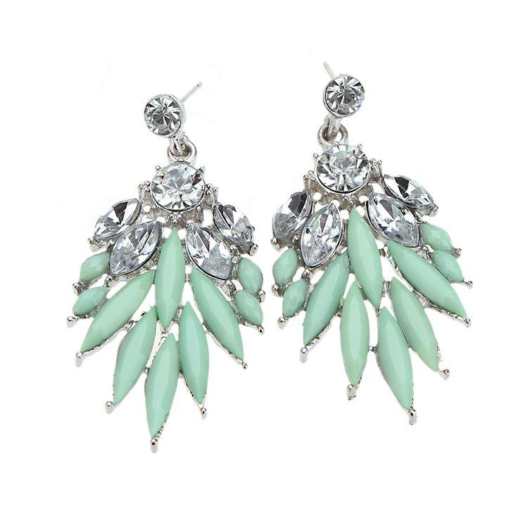 Высокое качество чешский горный хрусталь кристалл акриловые мода серьги старинные орать для женщин Brincos известный бренд серьги стержнякупить в магазине Five Star Outlet наAliExpress