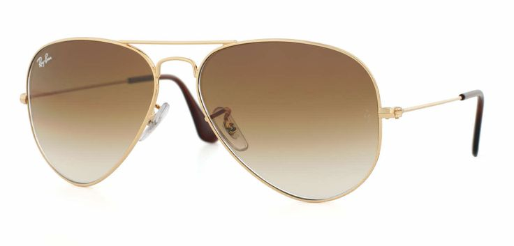 Ray-Ban RB3025 - Large Metal Aviator Sunglasses