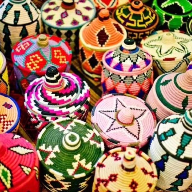 Morocco baskets