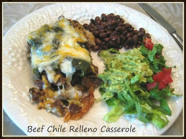 I just have to have my Mexican food fix once a week. But this time I decided to make something similar to stuffed chile rellenos that would be real easy to put together. The first time I made th...