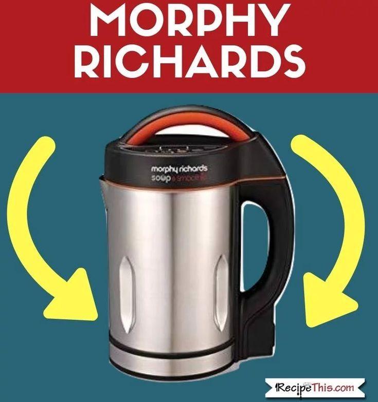 Morphy Richards Soup Maker Vs Cuisinart Soup Maker and