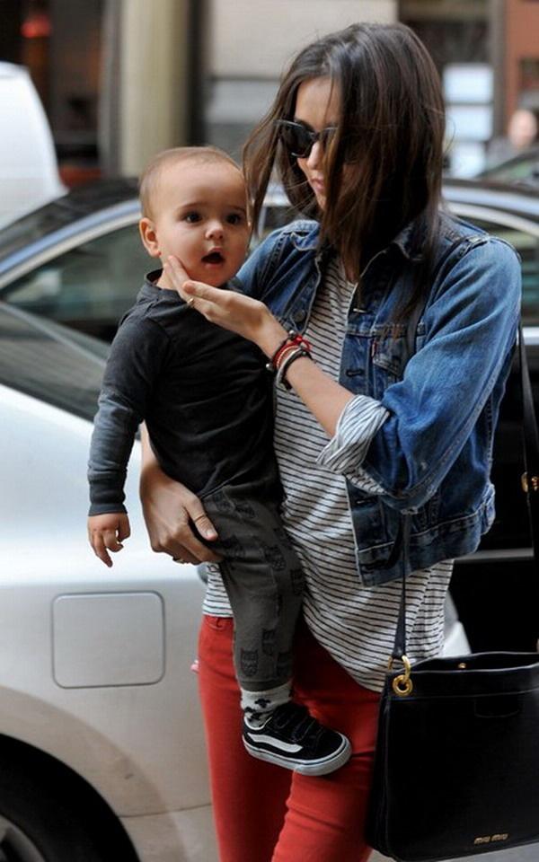 Miranda Kerr y su hijo Flynn Bloom