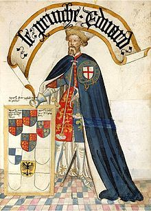 Edward of Woodstock, Prince of Wales, Duke of Cornwall, Prince of Aquitaine, KG (15 June 1330 – 8 June 1376) was the eldest son of King Edward III of England and his wife Philippa of Hainault as well as father to King Richard II of England.