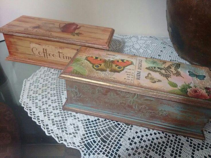Cajas para el té