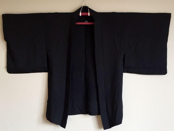 A personal favourite from my Etsy shop https://www.etsy.com/au/listing/477876301/1950s-black-haori-kimono-jacket-boho