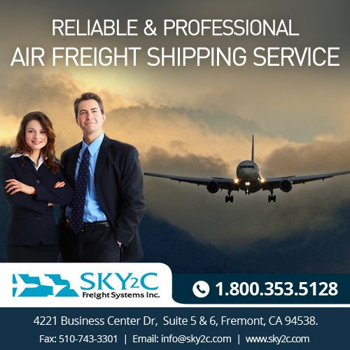 Air freight is the most popular option to ship goods from the US to India. #Sky2c Air Freight to India & USA is faster, safer and effective.  #airfreighttoindia #freightUsatoindia #internationaltransport