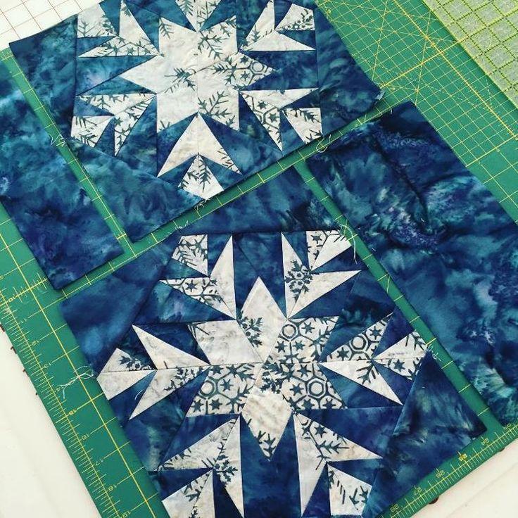 Free Quilt Pattern: Snowflake