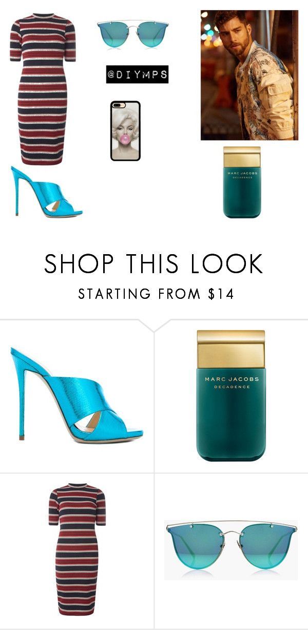 """lines"" by diymps on Polyvore featuring Giuseppe Zanotti, Marc Jacobs, Dorothy Perkins and Boohoo"