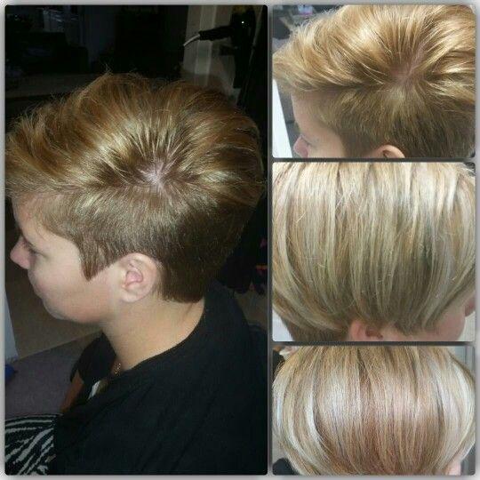 Midden blonde folie kleuring