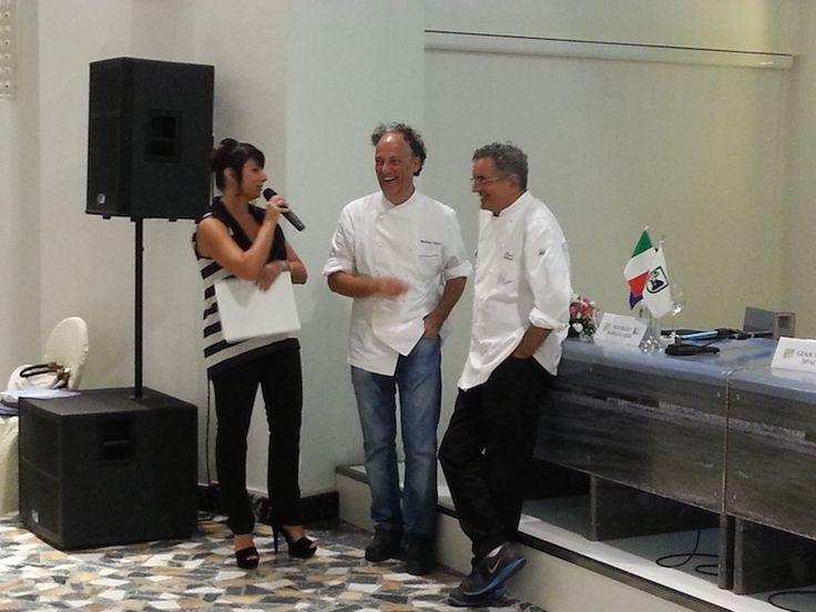 Gli chef Cedroni e Uliassi ricevono la targa di Adriatic Way