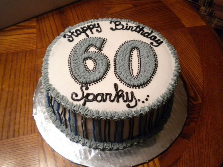 100 Birthday Cake For 60 Year Old Man The 25 Best 60