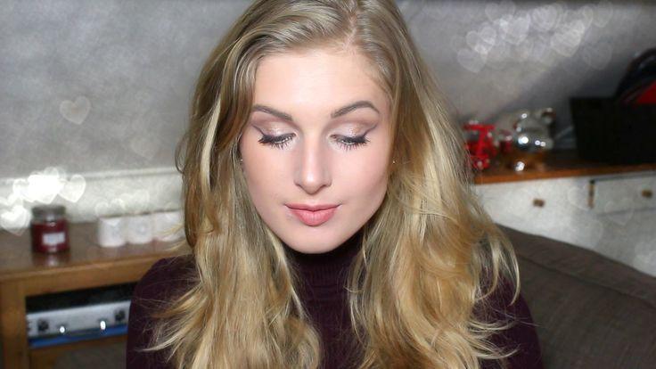 Makeup Look Subtiele Paarse Eyeliner | Sarah Rebecca