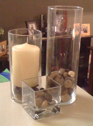 1000 Images About Vase Fillers On Pinterest Centerpieces Silk Orchids And River Rocks
