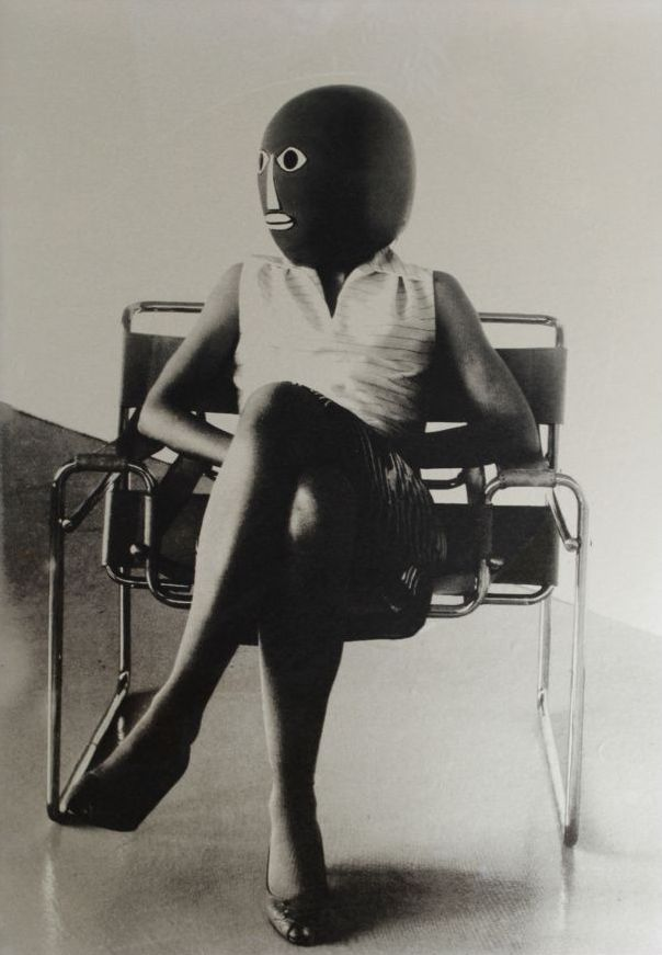Ursula Mayer - Unknown Student in Marcel Breuer Chair, 2006