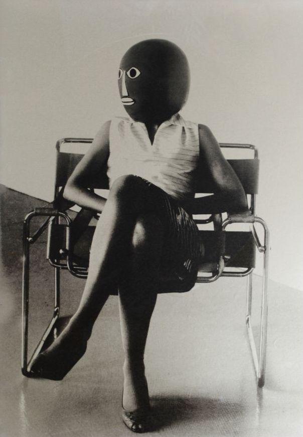 Ursula Mayer - Unknown Student in Marcel Breuer Chair, 2006
