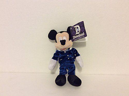 Disney Parks 60th Anniversary Diamond Celebration Key Chain Plush * Want additional info? Click on the image.