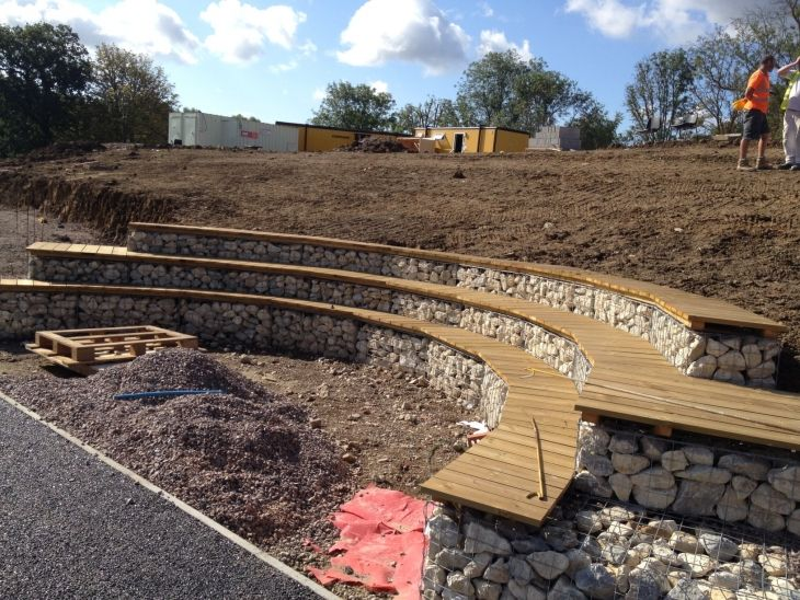 RAF Uxbridge Primary School, London Complete | Retain | Retaining Wall Solutions