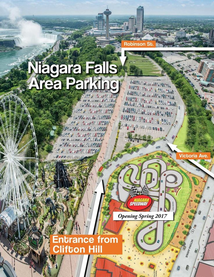 Clifton Hill Offers the easiest most hassle-free place to find parking inNiagara Falls Clifton Hill provides a few convenient parking options just 1 Block to the Falls.