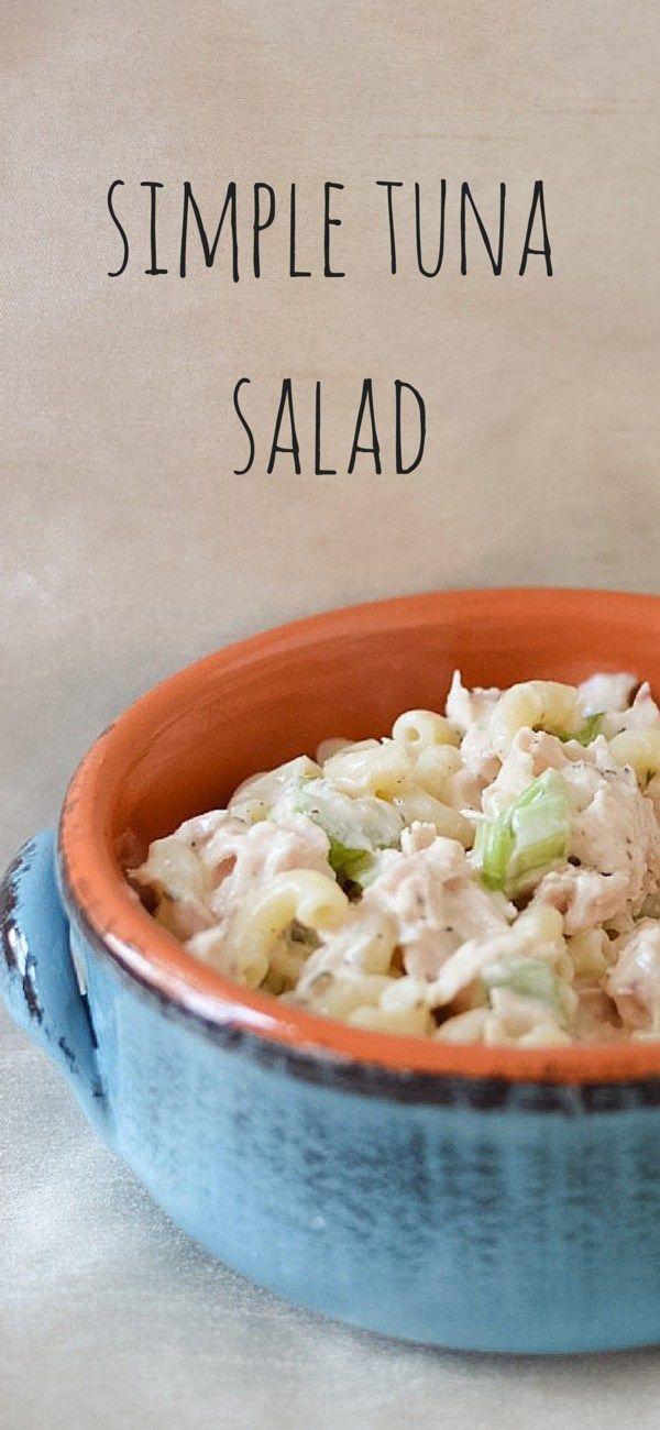 Simple Tuna Noodle Salad Recipe - My Family Mealtime