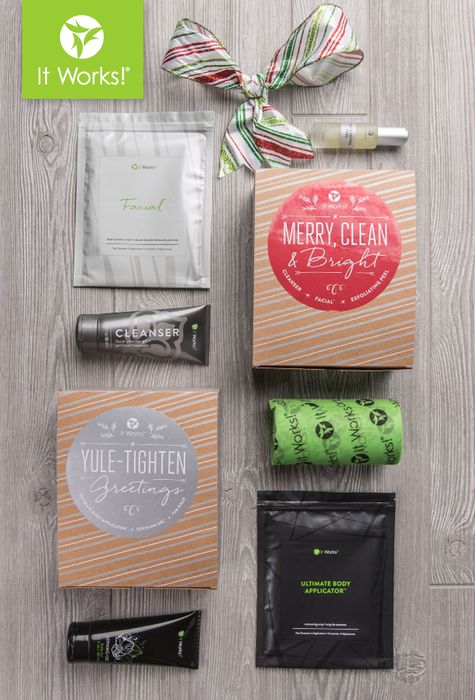 Be #WrappedandReady this holiday season with the Yule Tighten Greetings and Merry, Clean & Bright gift sets—complete with the NEW WRAP & FACIAL packaging! Now that's gifting made easy!