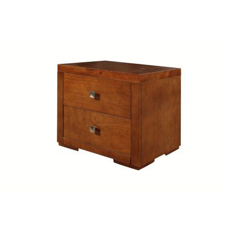 Oxford Cherry Nightstand, Red