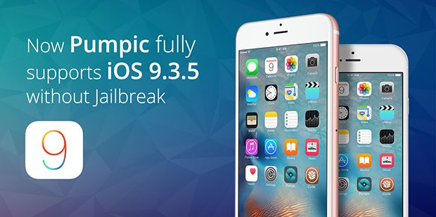 Pumpic is excited to announce that iOS Jailbreak-Free iCloud monitoring solution now supports iOS 9.3.5, as well.