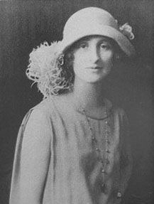 Vera Brittain:  English writer, pacifist and feminist.  My daughter is named for her.