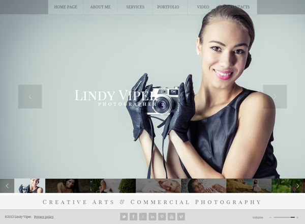 Photographer HTML5 Template by Dynamic Template