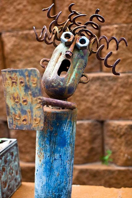Welded Art by Duluk, via Flickr