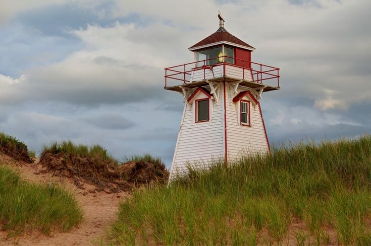 Lighthouse on the shores of beautiful PEI