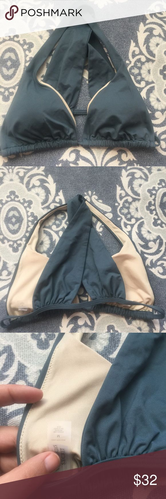 NWOT VS bathing suit top Cross crossed back. Never been worn. Questions and reasonable offers through the offer button are welcomed! Victoria's Secret Swim